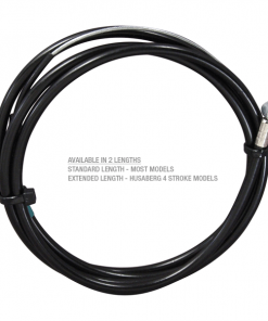 Extended brake cable
